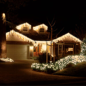 720 WARM WHITE ICICLE LED Snowing Light