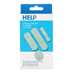 Help 40 Hypoallergenic Plasters
