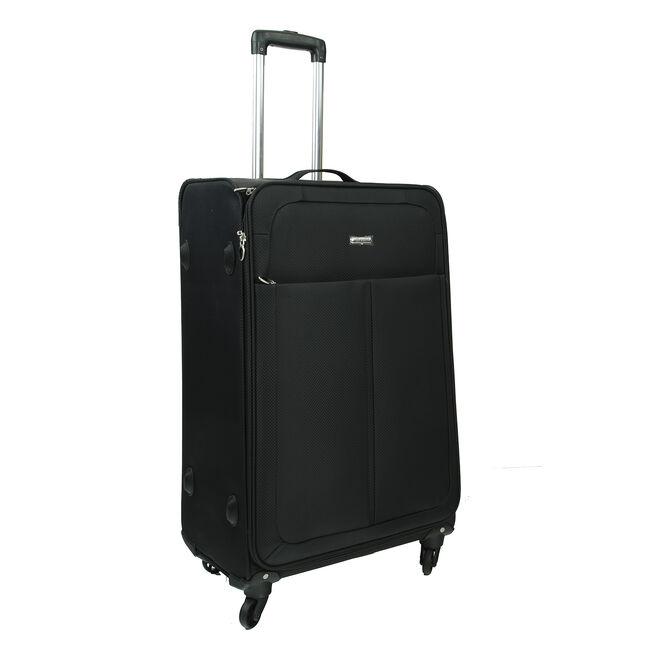 Large Black Lightweight Suitcase
