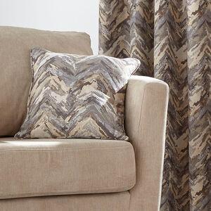 Zig Zag Natural Cushion 45cm x 45cm