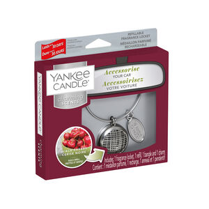 Yankee Charming Scents Geometric Black Cherry