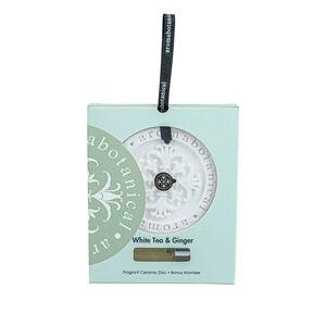 White Tea & Ginger Fragrant Ceramic Disc