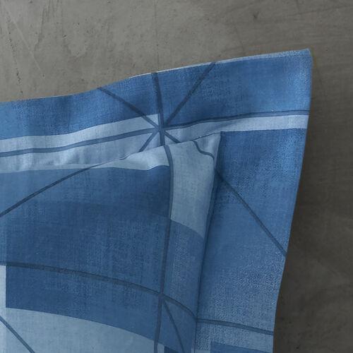 Joey Oxford Pillowcase Pair - Blue