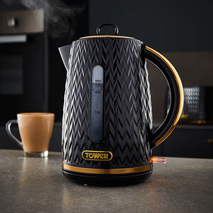 Tower Empire Black Kettle - 1.7L
