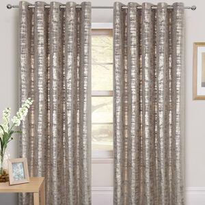 Tribeca Foil Curtains