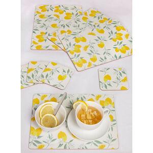 Lemons Mats & Coasters 4pack