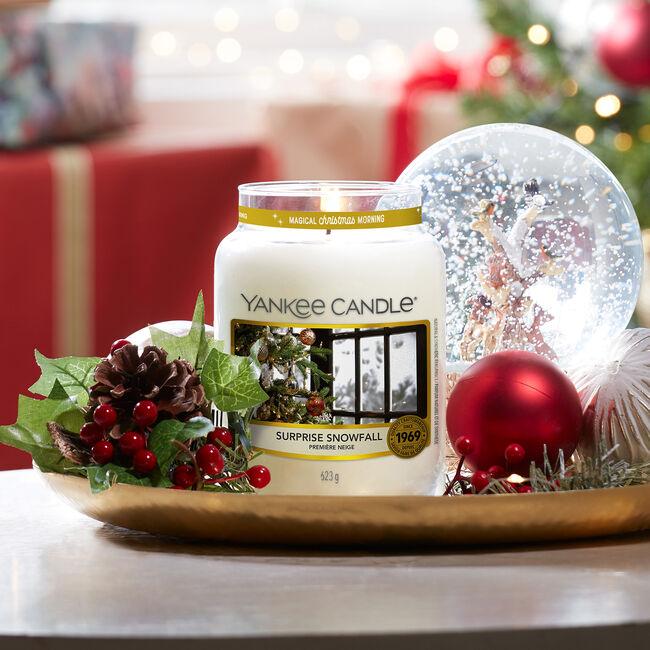 Yankee Candles Surprise Snowfall Large Jar