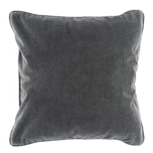 Naomi Cushion 58x58cm - Charcoal