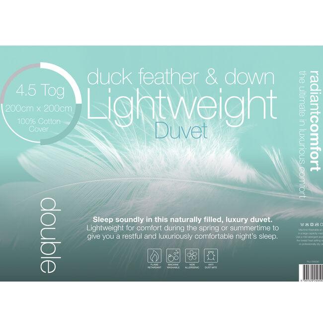 Duck Lightweight Duvet Double