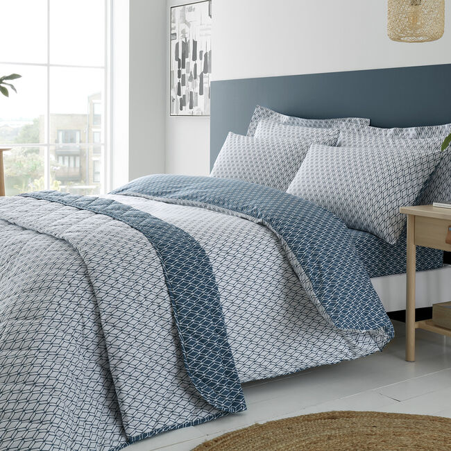 DOUBLE DUVET COVER Cody Teal