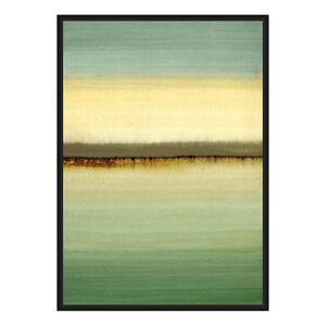 Sage Green Print Framed Foil Finish