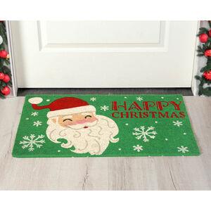 Snowy Santa Door Mat 40 x 70cm
