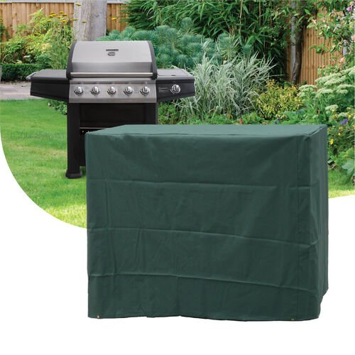 Deluxe 6 Burner Gas BBQ Cover 380GSM