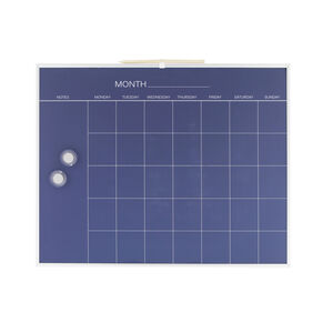 Magnetic Monthly Chalk Board Planner