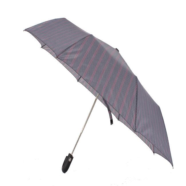 Susino Semi-Auto Multi Tartan Hook Handle Umbrella