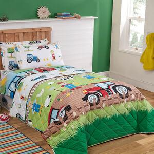 Farm Day Bedspread 200x220cm
