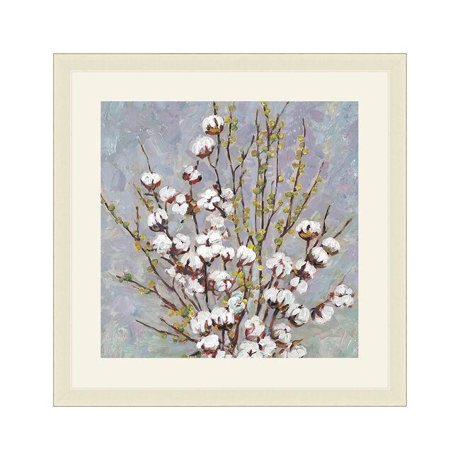Wild Cotton Framed 37x37cm