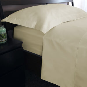 SB FLAT SHEET 500 Threadcount Cotton Cream
