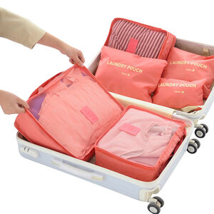 Laundry Travel Organiser Set of 6