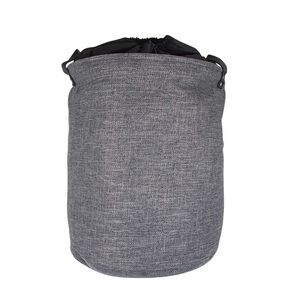 Northern Shore Fabric Laundry Hamper - Dark Grey