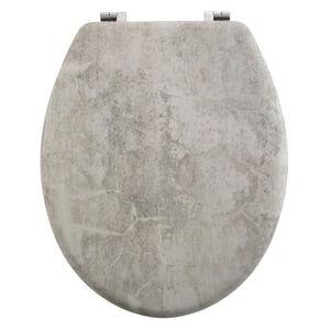 Grey Marble Toilet Seat