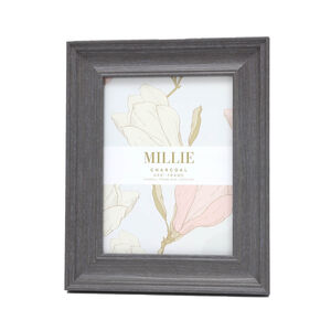 "Millie Photo Frame 6x8"" - Charcoal"