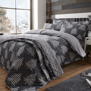 Brushed Cotton Trees Duvet Cover