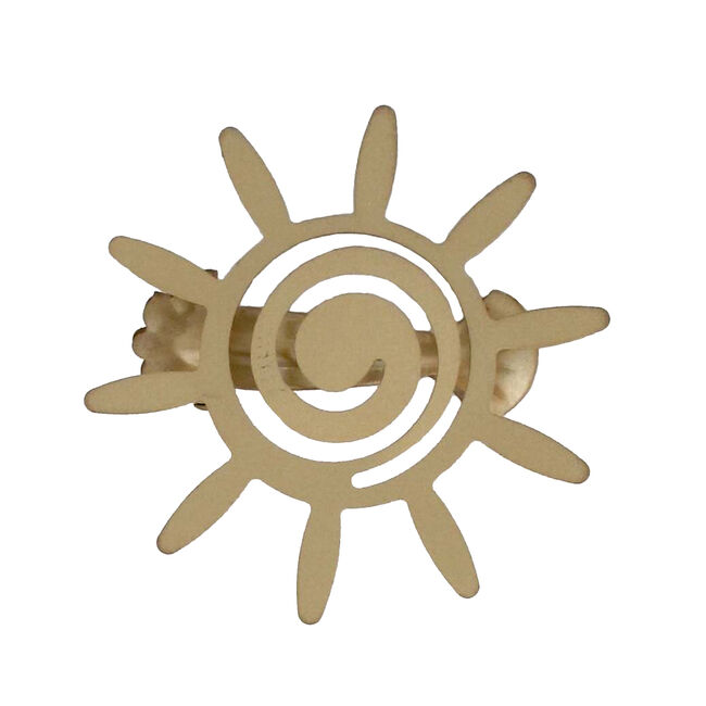 Helios Matte Gold 2 Curtain Clips