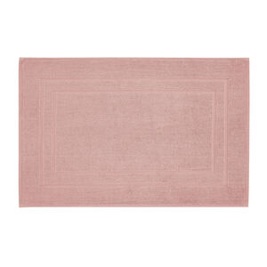 Plain Dye Bath Mat Peach