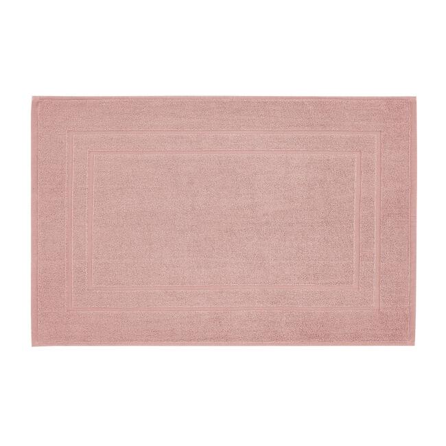 Plain Dye Bath Mat Peach