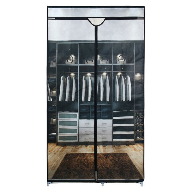 Hanging Wardrobe with Cover