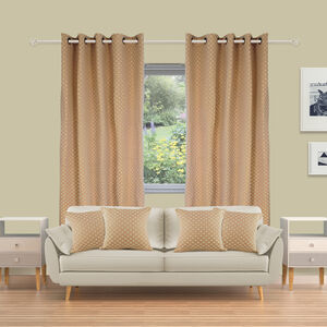 Chenille Dots Curtains