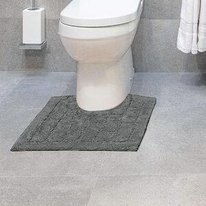 Cotton Brick Pedestal Mat Steel