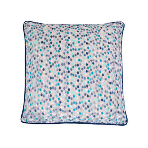 Sophie Spot Cushion 45 x 45cm - Blue