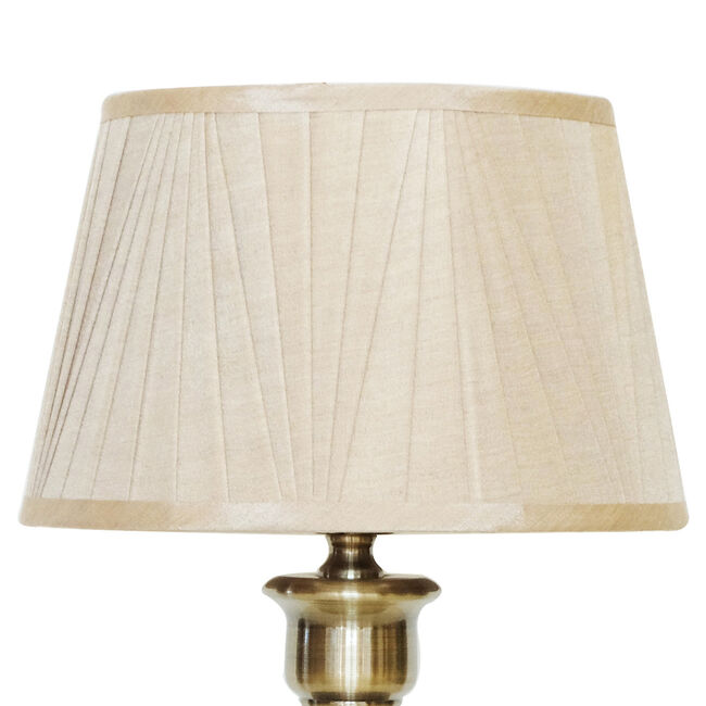 Antique Brass Trophy Table Lamp