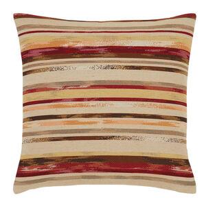 Summer Stripe Red Cushion 45cm x 45cm