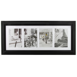 Simply Black Photo Frame Duo 5x7""
