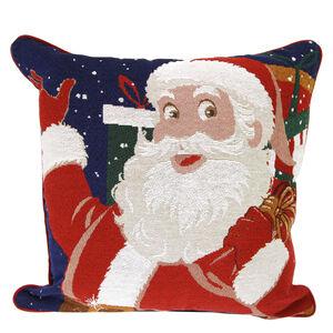 Happy Christmas Santa Cushion Cover 2 Pack