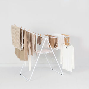 Brabantia 20m HangOn Drying Rack White