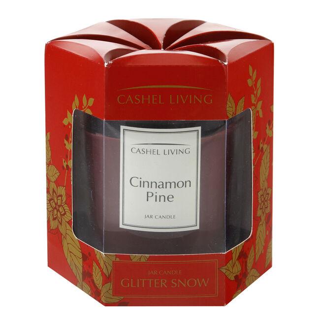 Cashel Living Cinnamon Pine Jar Candle
