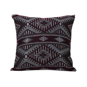 Tribal Cushion 45 x 45cm - Plum