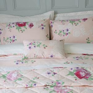 Rose Dawn Blush Cushion 30cm x 50cm