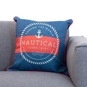 Anchor Navy/Red Cushion 45x45cm