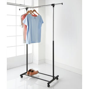 Extendable Single Garment Rail
