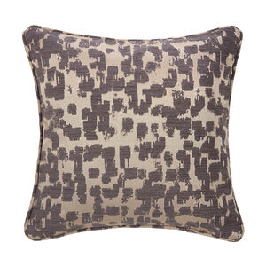 Phoenix Bark Cushion 45 x 45cm - Charcoal