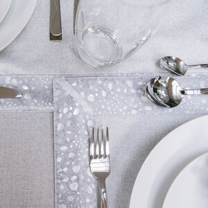 Glitz Silver Placemat 2 Pack