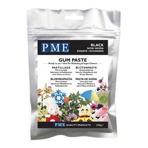 PME Black Gum Paste 200g