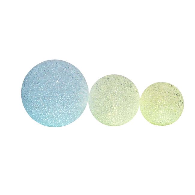 Eva Glitter Ball Lights 3 Pack