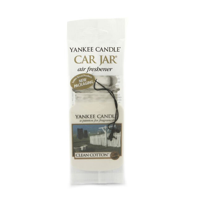 Yankee Candle Clean Cotton Car Jar