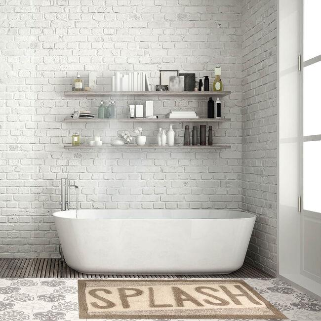 Splash Bath Mat 40 x 60cm - Natural